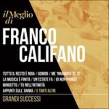 Il Meglio di Franco Califano. Grandi Successi (Digipack) - CD Audio di Franco Califano