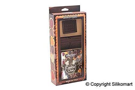 Stampo in Silicone Cookie Hearts Marrone + Manopola in Gift Box + Libro Ricettario - 7