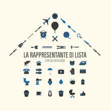 Per la via di casa (180 gr. Coloured Vinyl) - Vinile LP di La Rappresentante di Lista
