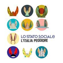L'Italia peggiore (Deluxe Edition - Coloured Vinyl) - Vinile LP di Lo Stato Sociale