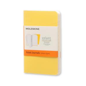 Cartoleria Taccuino Volant Moleskine extra small a righe 2 tinte. Set da 2 Moleskine 0