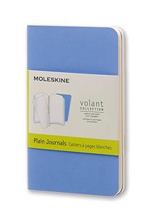 Cartoleria Taccuino Volant Moleskine extra small a pagine bianche 2 tinte. Set da 2 Moleskine 0