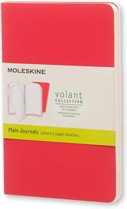 Cartoleria Taccuino Volant Moleskine pocket a pagine bianche 2 tinte. Set da 2 Moleskine