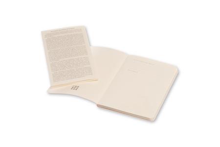 Cartoleria Taccuino Volant Moleskine pocket a pagine bianche 2 tinte. Set da 2 Moleskine 2