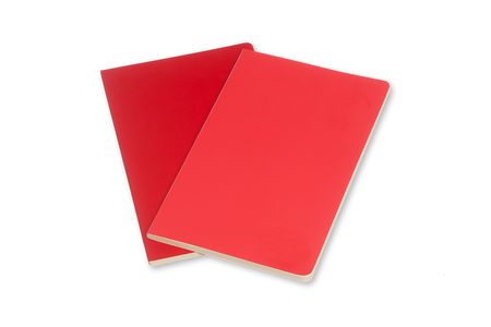 Cartoleria Taccuino Volant Moleskine pocket a pagine bianche 2 tinte. Set da 2 Moleskine 4