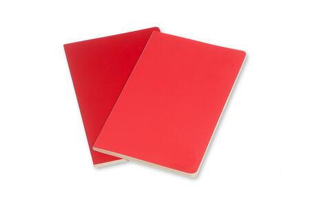Cartoleria Taccuino Volant Moleskine large a righe 2 tinte. Set da 2 Moleskine 4