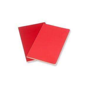 Cartoleria Taccuino Volant Moleskine large a pagine bianche 2 tinte. Set da 2 Moleskine 1