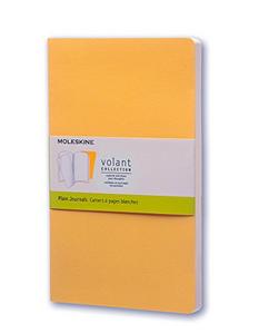 Cartoleria Taccuino Volant Moleskine large a pagine bianche 2 tinte. Set da 2 Moleskine 0