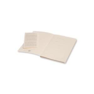Cartoleria Taccuino Volant Moleskine large a pagine bianche 2 tinte. Set da 2 Moleskine 2