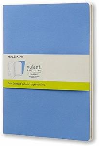 Cartoleria Taccuino Volant Moleskine extra large a pagine bianche 2 tinte di. Set da 2 Moleskine