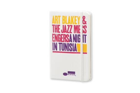 Cartoleria Moleskine Bluenote Limited Edition 2015 Plain Notebook Pocket Hard Cover White Moleskine 1