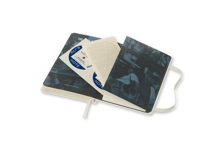 Cartoleria Moleskine Bluenote Limited Edition 2015 Plain Notebook Pocket Hard Cover White Moleskine 4