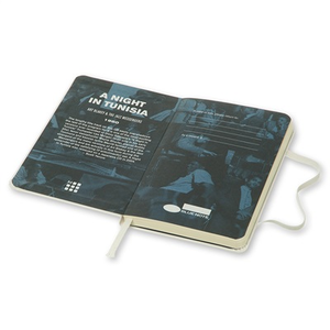 Cartoleria Moleskine Bluenote Limited Edition 2015 Plain Notebook Pocket Hard Cover White Moleskine 7