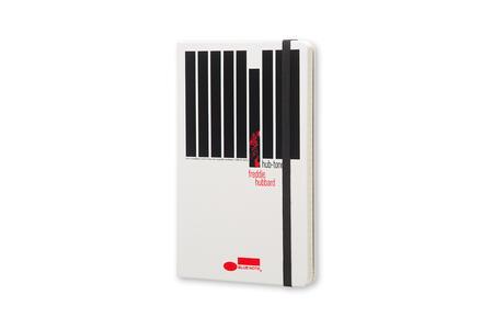 Taccuino Moleskine Bluenote Limited Edition large a righe. Freddie Hubbard. Bianco - 2