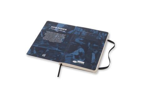 Taccuino Moleskine Bluenote Limited Edition large a righe. Freddie Hubbard. Bianco - 3
