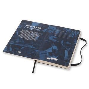 Taccuino Moleskine Bluenote Limited Edition large a righe. Freddie Hubbard. Bianco - 9