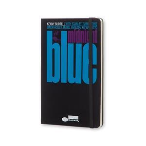 Taccuino Moleskine Bluenote Limited Edition large a pagine bianche. Kenny Burrell. Nero - 2