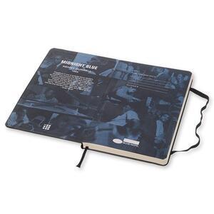 Taccuino Moleskine Bluenote Limited Edition large a pagine bianche. Kenny Burrell. Nero - 3