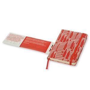 Taccuino Moleskine Coca-Cola Limited Edition pocket a righe. Rosso - 5
