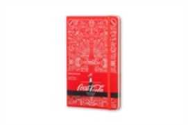 Cartoleria Taccuino Moleskine large a righe. Coca-Cola 2015 copertina rigida Moleskine