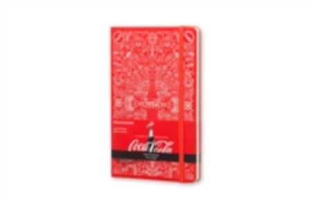 Cartoleria Taccuino Moleskine large a righe. Coca-Cola 2015 copertina rigida Moleskine 0
