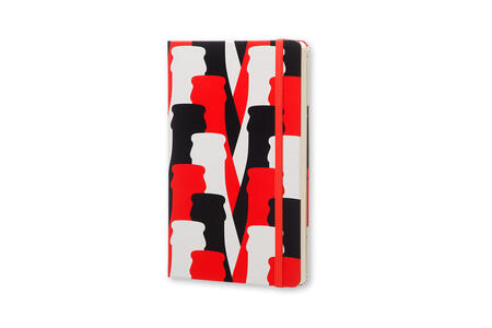 Taccuino Moleskine Coca-Cola Limited Edition large a pagine bianche. Bottle - 2