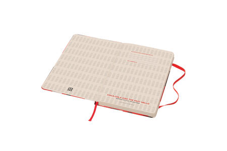 Taccuino Moleskine Coca-Cola Limited Edition large a pagine bianche. Bottle - 3