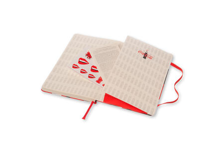 Taccuino Moleskine Coca-Cola Limited Edition large a pagine bianche. Bottle - 5