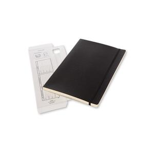 Taccuino Workbook Moleskine A4 a quadretti copertina morbida - 3