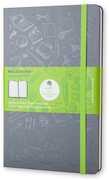 Cartoleria Taccuino Evernote Smart Moleskine large a righe copertina rigida Moleskine