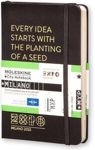 Cartoleria City Notebook Milano Expo2015 Moleskine