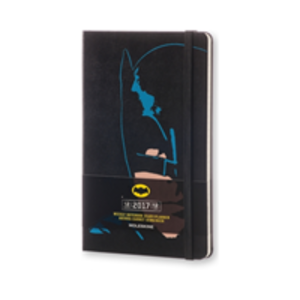 Cartoleria Agenda 2017 12 mesi settimanale Large Batman Moleskine Moleskine 0