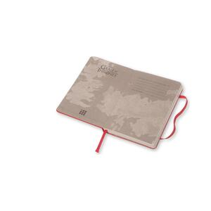 Taccuino Moleskine Game of Thrones Limited Edition pocket a righe. Tyron Lannister. Rosso - 3