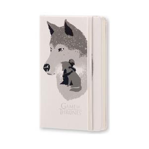 Taccuino Moleskine Game of Thrones Limited Edition pocket pagine bianche. Werewolf. Bianco - 2