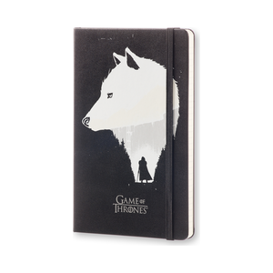 Cartoleria Taccuino Game of Thrones Large a righe Moleskine Moleskine 1