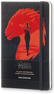 Cartoleria Taccuino Game of Thrones Large pagine bianche Moleskine Moleskine 0