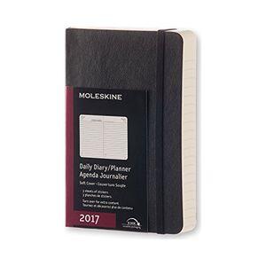 Cartoleria Agenda 2017 12 mesi giornaliera Pocket Moleskine Moleskine 0