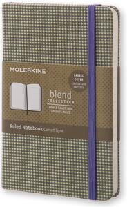Taccuino Moleskine Blend Collection Limited Edition pocket a righe. Verde