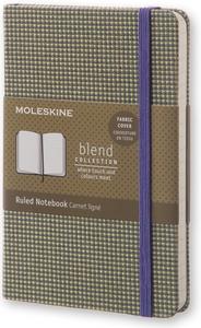 Cartoleria Taccuino Moleskine pocket a righe. Collezione limitata Blend Moleskine 0