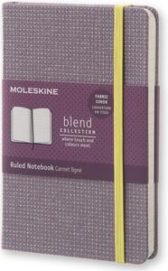 Taccuino Moleskine Blend Collection Limited Edition pocket a righe. Viola