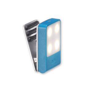 Lampada a LED da viaggio Moleskine. Azzurro - 3