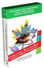 Enciclopedia Della Cucina Vegana, Crudista E Fruttaria (4 DVD)