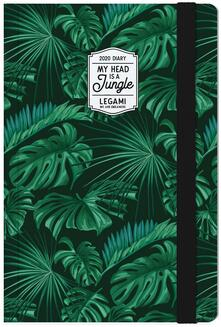 Agenda Legami Photo 2020, 12 mesi, settimanale medium Giungla. Jungle. Con Notebook