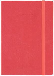 Cartoleria Taccuino Legami My Notebook large a pagine bianche Rosso. Neon Coral Legami