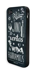 Cover per iPhone 5 Legami Aphorism. In vino veritas