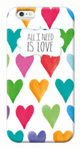 Cover per iPhone 6 Legami Quotes. All I Need Is Love