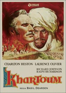 Khartoum di Basil Dearden,Michael Relph - DVD