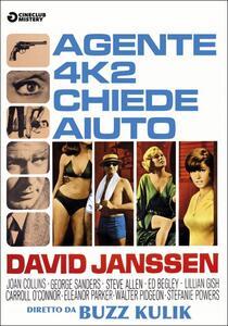 Agente 4K2 chiede aiuto di Buzz Kulik - DVD