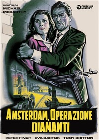 Locandina Amsterdam operazione diamanti