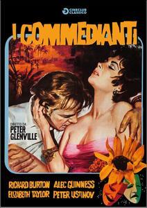 I commedianti di Peter Glenville - DVD